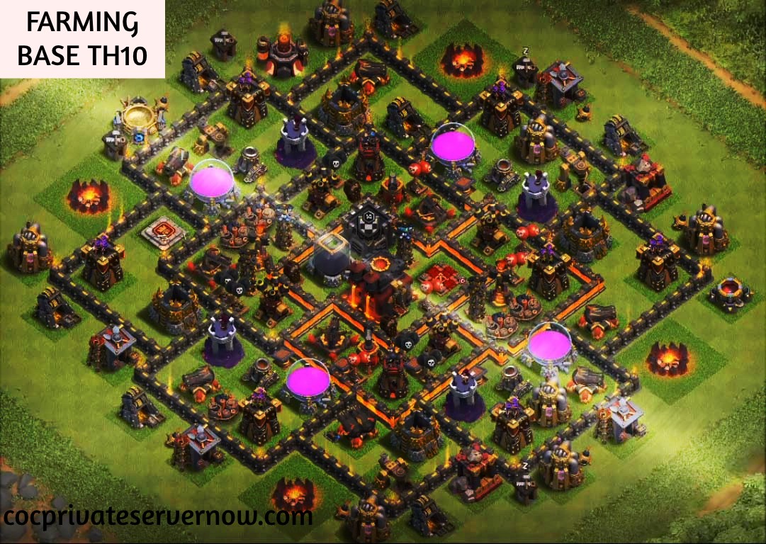 The Best Farming Base TH10